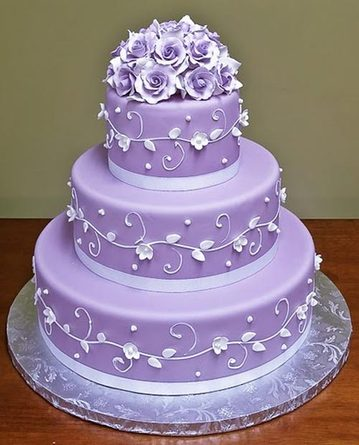 wedding cake bakery the knot purple wedding cakes the knot a wedding cake company 21969